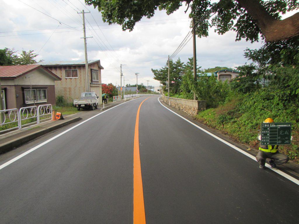 弘前鯵ヶ沢線舗装補修工事